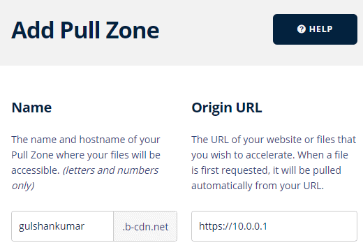 add a new pull zone for reverse