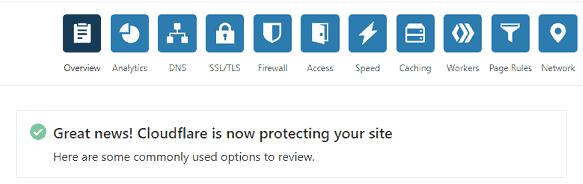 cloudflare status