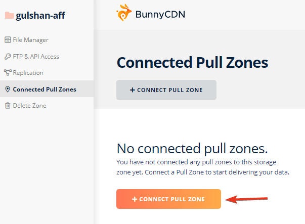connect pullzone