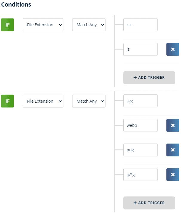 matching files type 1
