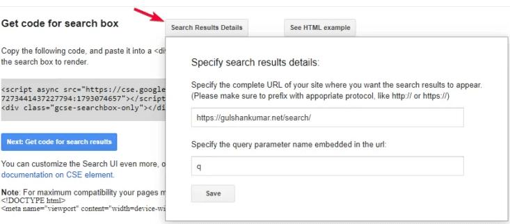setup search param urls